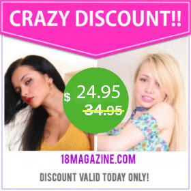 18magazine crazy discount